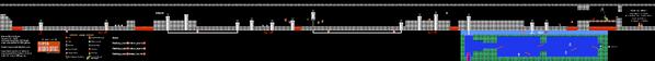 SMB World 8-4 NES level map