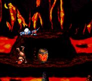 DKC2 Screenshot Lava-Samba 2