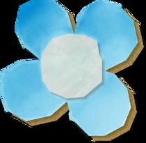 YCW-FleurDePapierBleue