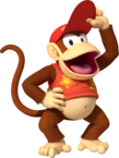 MKW Artwork Diddy Kong 2