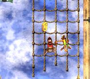 DKC2 Screenshot Schlotter-Mast 8