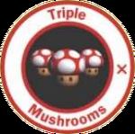 MK64 Artwork 3x Turbo-Pilze