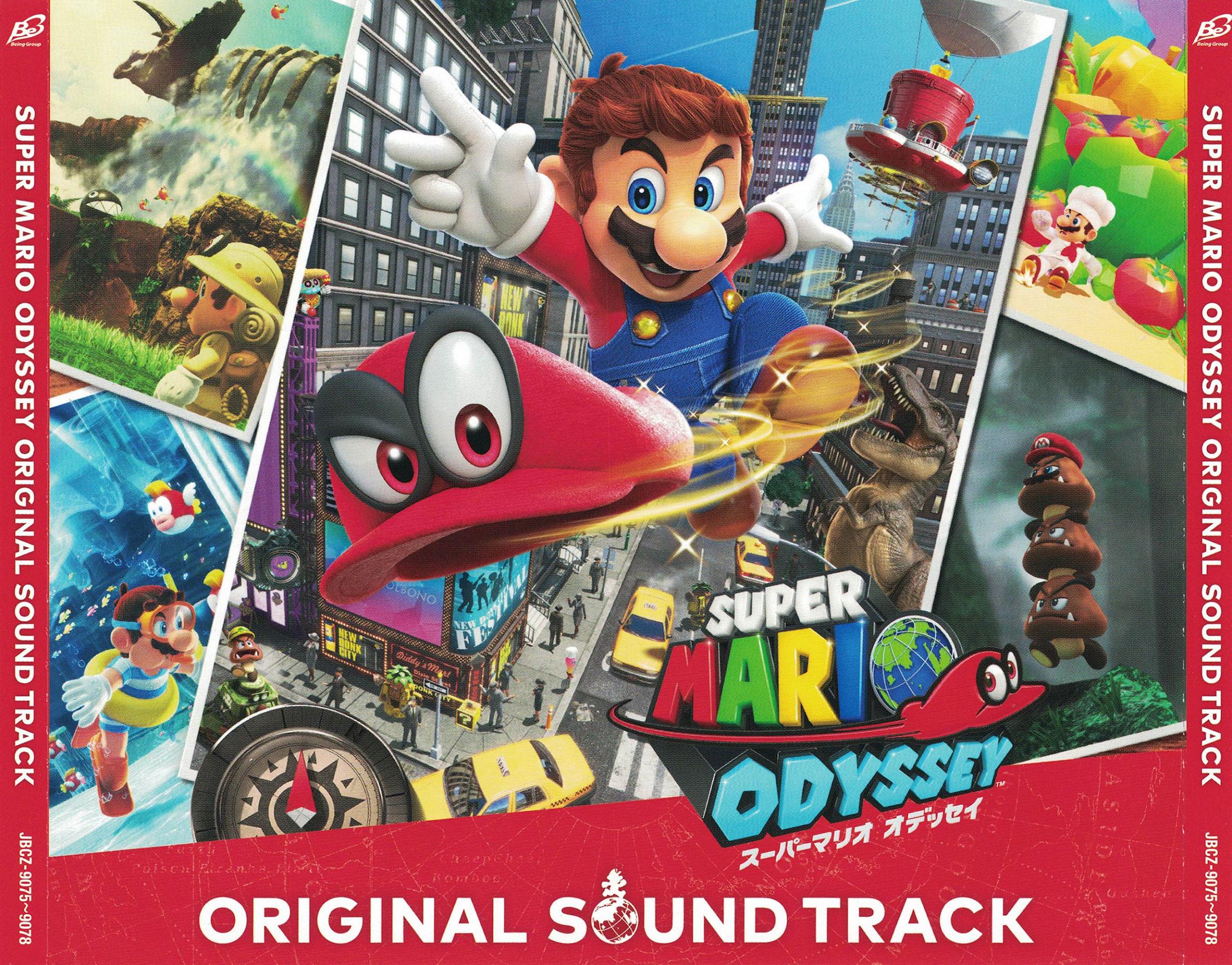 Super Mario Odyssey Original Sound Track