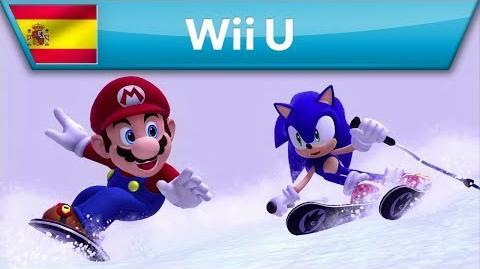 Mario & Sonic en los Juegos Olímpicos de Invierno Sochi 2014 - Tráiler (Wii U)