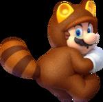 SM3DL Artwork Tanuki-Mario 2
