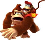 DKCR-Donkey Kong and Diddy Kong Artwork