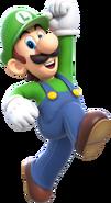 Luigi Artwork Super Mario 3D World