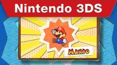 Nintendo 3DS - Paper Mario Sticker Star E3 Trailer
