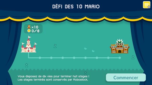 Défi des 10 Mario