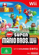 New Super Mario Bros Wii Caratula