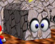 SM64 Screenshot Schubswand