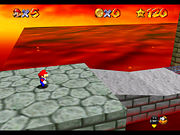 Bowser in the Fire Sea