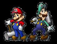 M&L3 Artwork Mario und Luigi