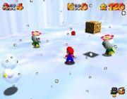 SM64 Screenshot Frostbeulen Frust