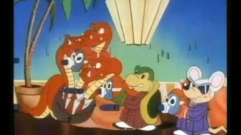 Super Mario Bros. Super Show! - Michael Jackson Beat it
