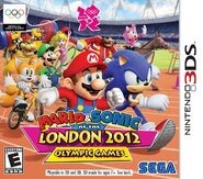 Mario & Sonic at the London 2012 Olympic Games (3DS) СА