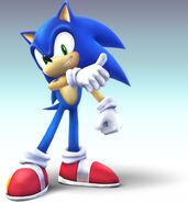 SSBB Artwork Sonic 2