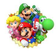 Mario Party 10 group art