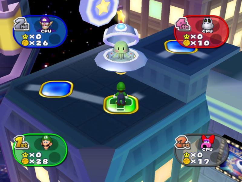 Alien (Mario Party series)
