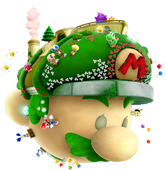 Vaisseau Mario