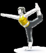 SSB4 Sprite Wii Fit-Trainer 6