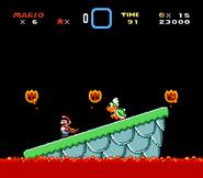 SMW Screenshot Larrys Festung 2