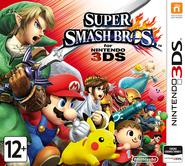 Super Smash Bros for Nintendo 3DS Russia boxart