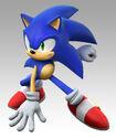 SSBB Artwork Sonic