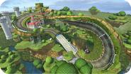 MK8 Screenshot Marios Piste (Wii U)
