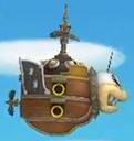 Morton Koopa Jr.'s Airship