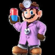 SSB4 Sprite Dr. Mario 6