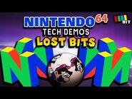 Nintendo 64 LOST BITS - Leaked Debug Tech Demos -TetraBitGaming-