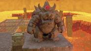 SMO Screenshot Graue Bowser-Statue