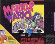 Mario&Wario Western Boxart