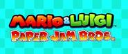 Mario & Luigi Paper Jam Bros. logo