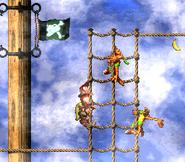 DKC2 Screenshot Schlotter-Mast 10