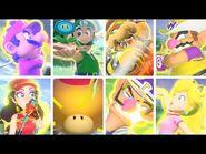 Mario Golf- Super Rush - All Special Shots & Special Dashes
