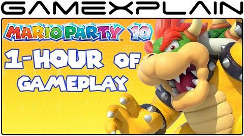 1-Hour of Mario Party 10 Gameplay (Livestream Archive)