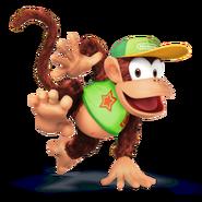 SSB4 Sprite Diddy Kong 4