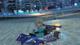 MK8 Screenshot Rosalina im Rennwagen