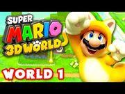 Super_Mario_3D_World_-_Walkthrough_Part_1_-_World_1_100%_(Nintendo_Wii_U_Gameplay)