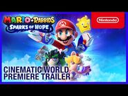 Mario + Rabbids Sparks of Hope - Cinematic World Premiere Trailer - Nintendo Switch-2