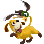SSB4 Sprite Duck Hunt Duo 6