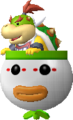 NSMBW Bowser Jr and Clown Car Render