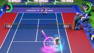 Tennis Match Aces