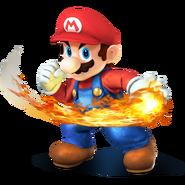 SSB4 Artwork Mario