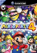 Mario Party 4 - North American Boxart