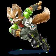 SSB4 Sprite Fox 6