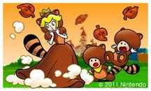 SM3DL Screenshot Tanuki-Peach