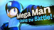 SSB4 Screenshot Charakter-Einführung Mega Man